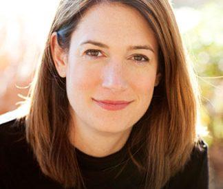headshot of the author Gillian Flynn