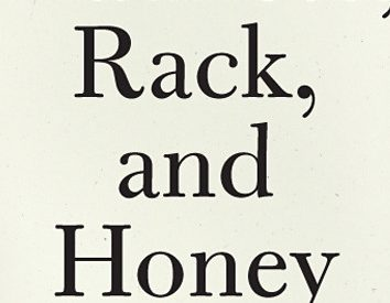 the cover of Mary Ruefle's Madness, Rack, and Honey
