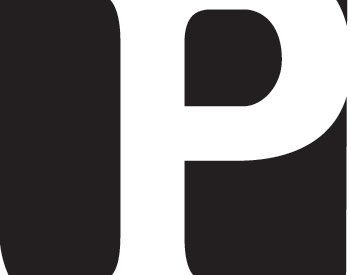"the Ploughshares logo ""P"""