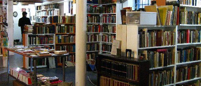 interior of a bookstore