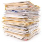 stack of papers and folders