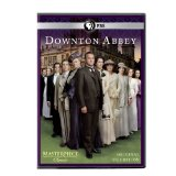 Season One DVD Cover of Downton Abbey featuring the cast