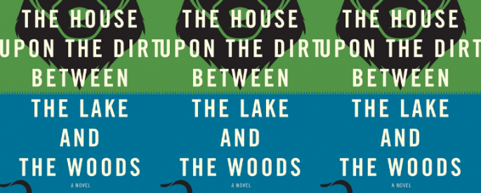 side by side series of the cover of In the House Upon the Dirt Between the Lake and the Woods are side by side.