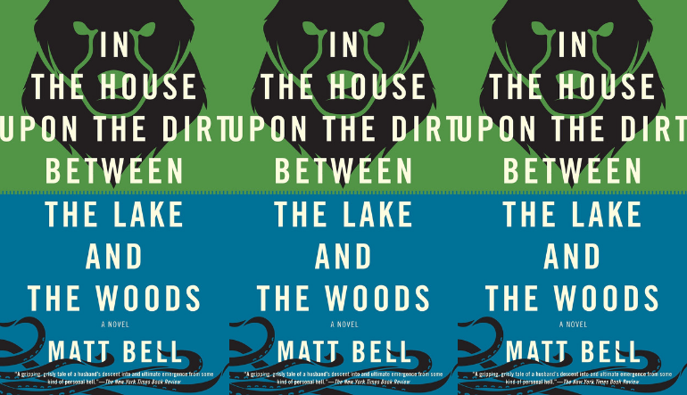 The cover of In the House Upon the Dirt Between the Lake and the Woods are side by side.