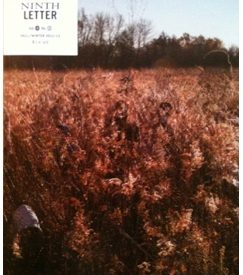 cover of the literary magazine Ninth Letter