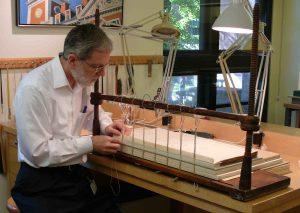 James Reid-Cunningham at work
