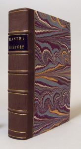 Conservation rebinding on The History of the Late War in North-America, London, 1772