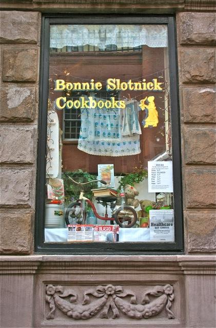 The exterior of Bonnie's West Village shop