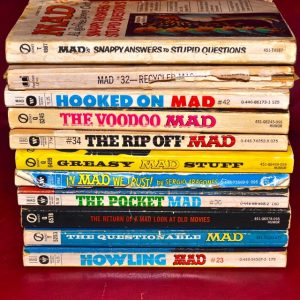Stack of Mad Magazines