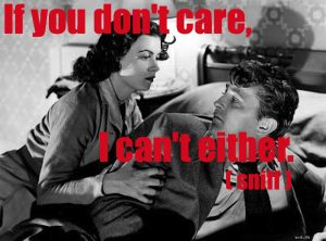 if you don't care