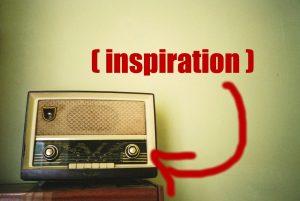 vintage radio inspiration