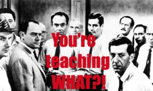 you're teaching WHAT