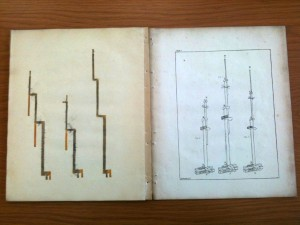 MIT's copy of W. Snow Harris's Observations on the effects of lightning on floating bodies (London, 1823)