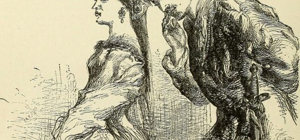 A sketch from one of Shakespeare's plays.