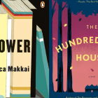 The covers of THE BORROWER and THE HUNDRED-YEAR HOUSE side by side.
