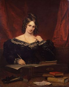 Mary Wollstonecraft Shelley, precocious teen writer