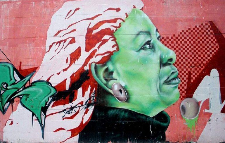 Street art of Tori Morrison