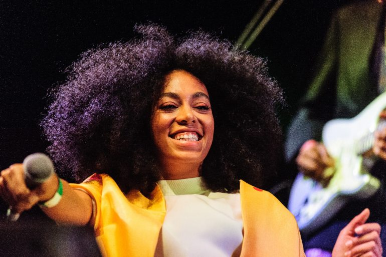 Solange Knowles at Coachella