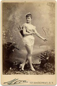Miss Farington, Exotic Dancer