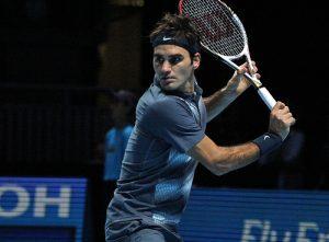 Roger Federer: Temporal being or beams of light?