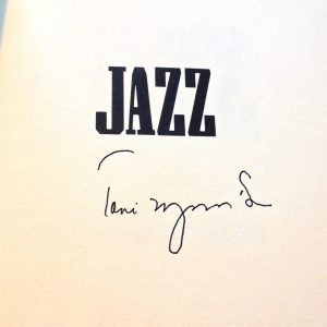 Toni Morrison's signature. What more do you need?
