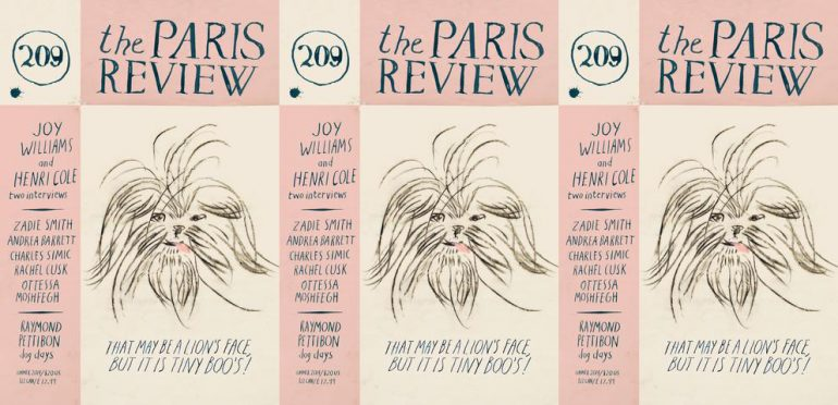 Cover for the Paris Review issue 209