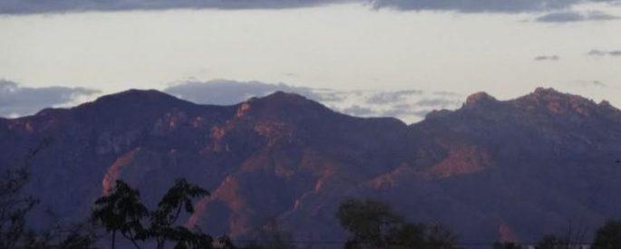 Tucson, Arizona mountain range