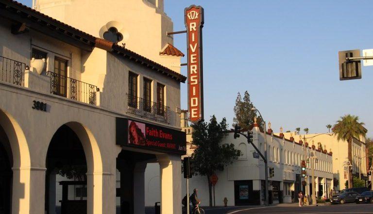 A street of downtown Riverside California