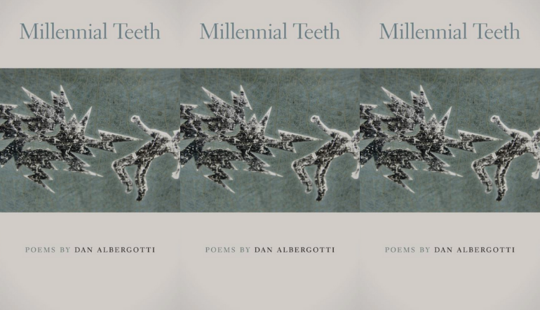 The cover of Millennial Teeth side by side.