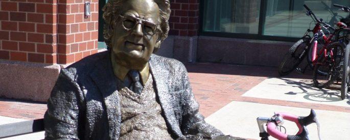 Statue of Northrop Frye