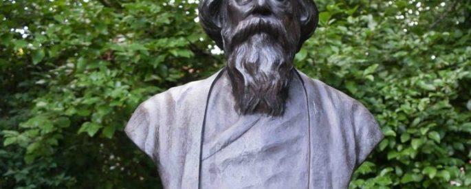 Bust of Rabindranath Tagore