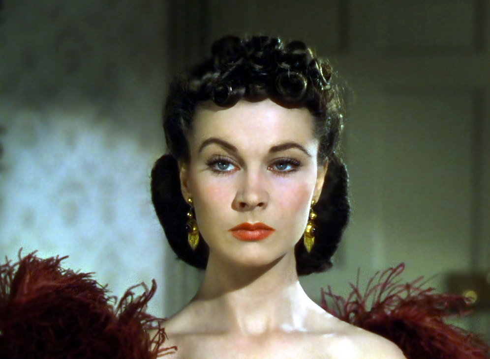 Picture of Vivien Leigh on Gone With the Wind