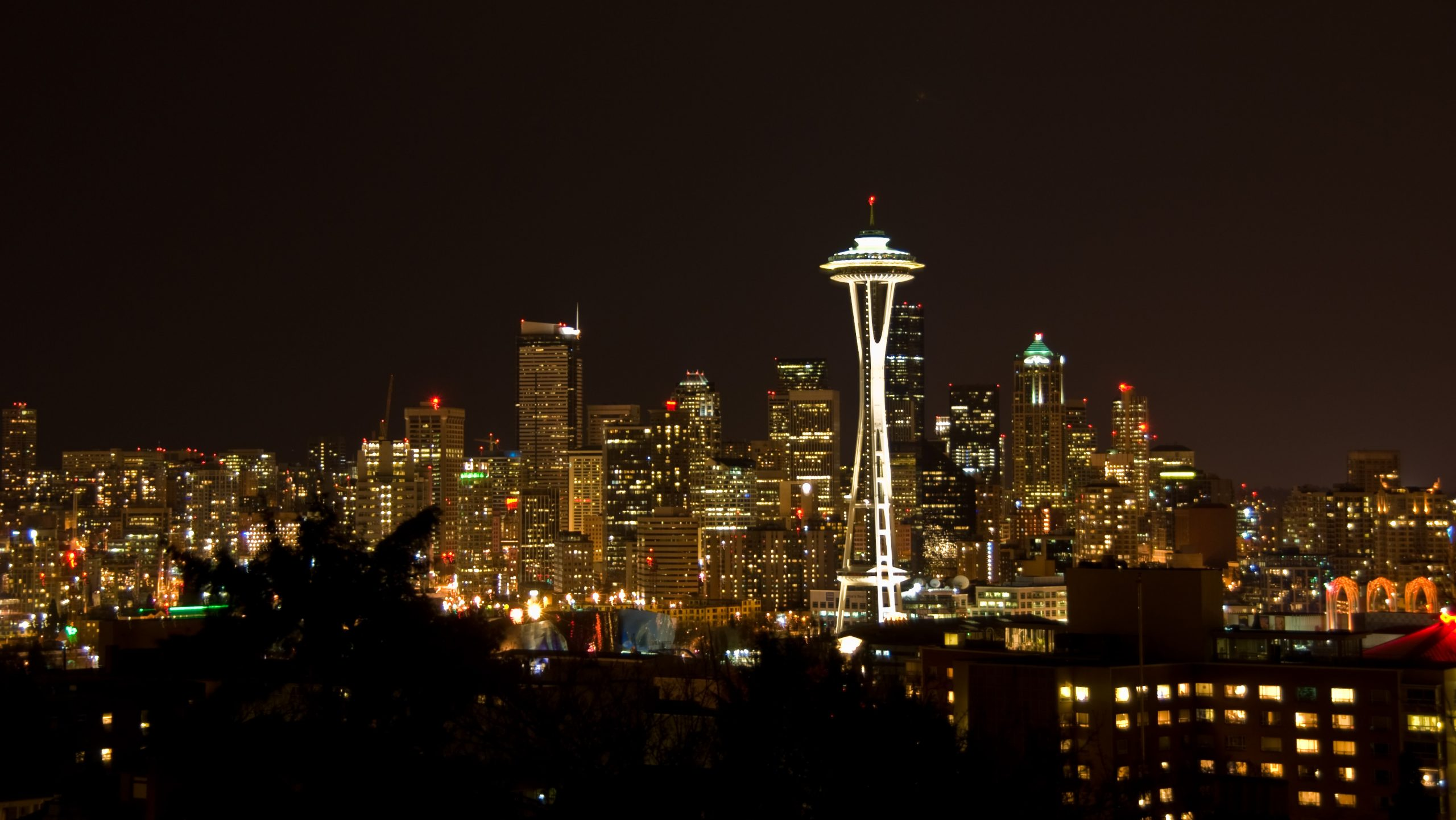 Picture of the Seattle skyline.