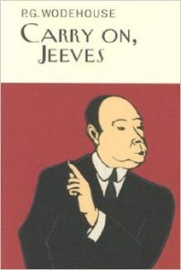 Book cover of Carry On, Jeeves by P.G. Wodehouse
