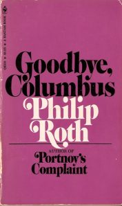 Book cover of Goodbye, Columbus by Philip Roth