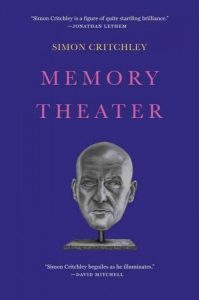 Book cover of Memory Theater by Simon Critchley