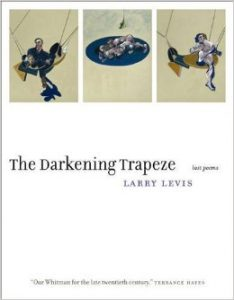 Book cover of the darkening trapeze