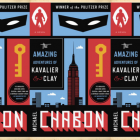 Michael Chabon book covers.