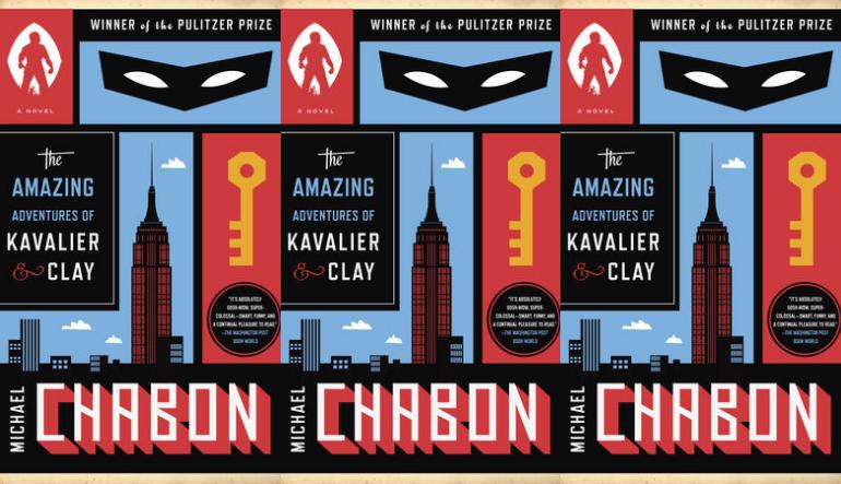 Michael Chabon book covers.