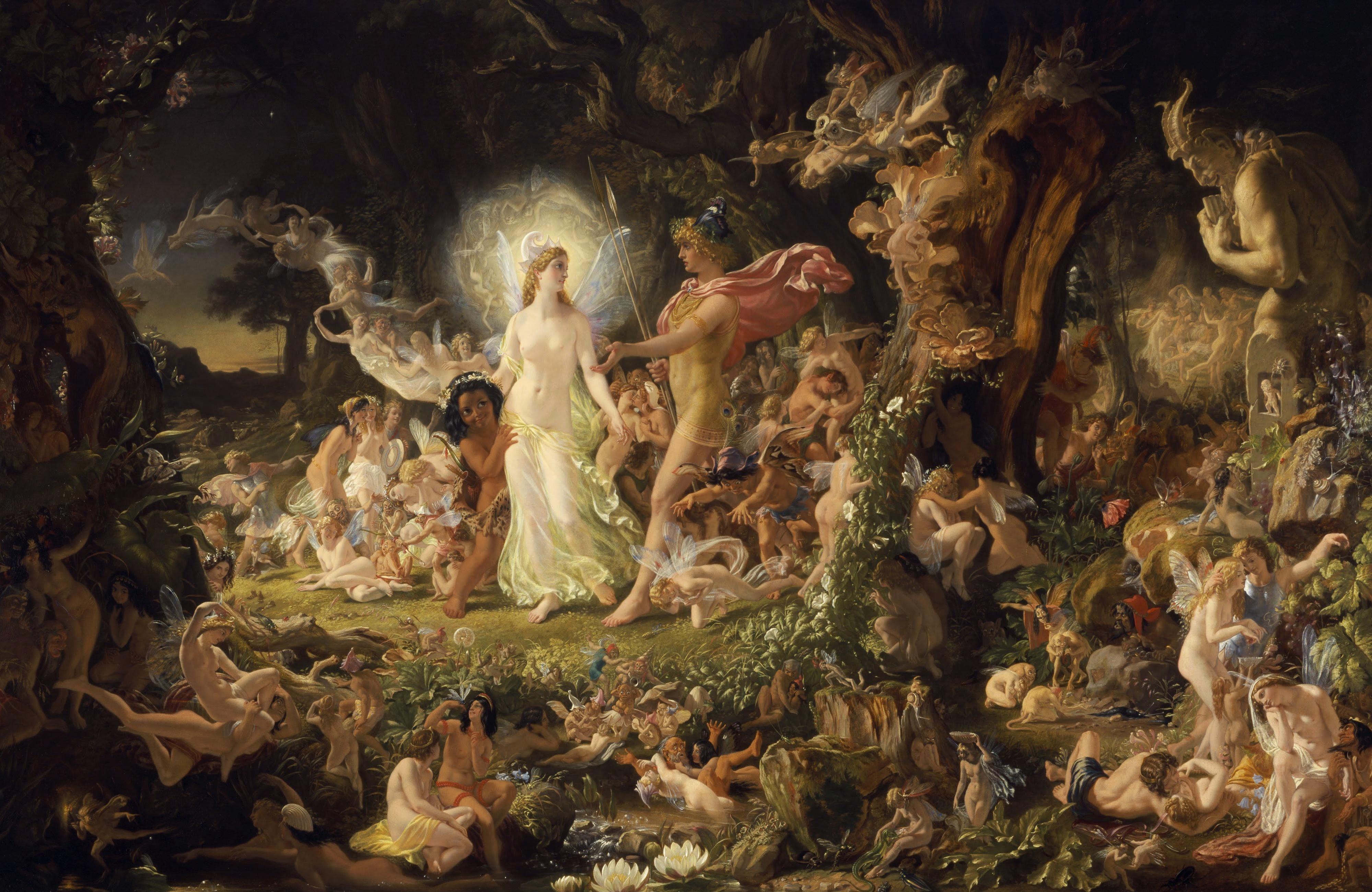 A Midsummer Night's Dream painting
