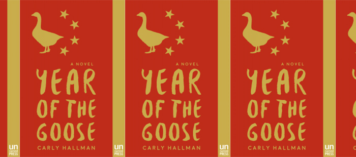 Side by side covers of year of the goose