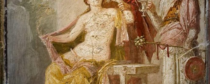 Erotic scene Pompeii MAN Napoli