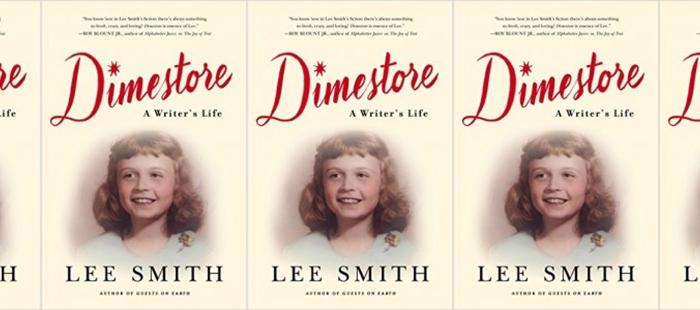 Side by side covers of the book Dimestore by Lee Smith