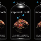 The cover of the book impossible bottle side by side.