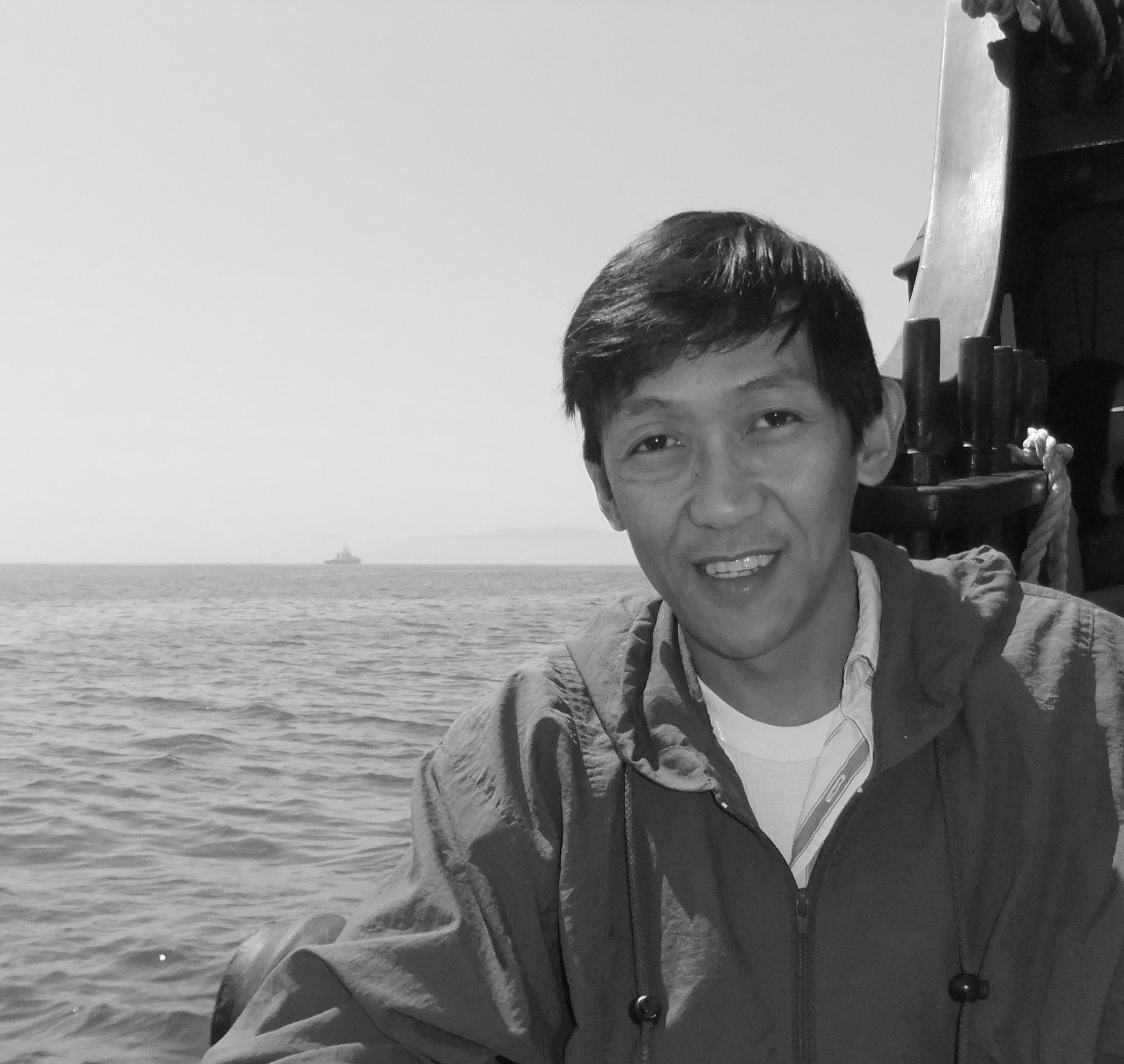 Picture of Interview with Jim Pascual Agustin by the sea