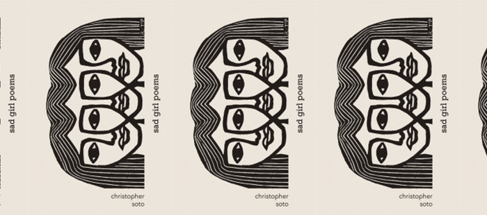 Side by side covers of Sad Girl Poems by Christopher Soto