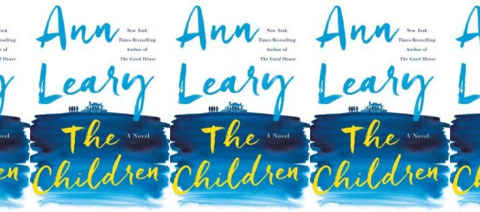 Side by side covers of The Children by Ann Leary