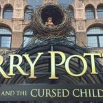 Picture of the outside of the theater of Harry Potter and the Cursed Child