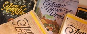 A picture of Anne of Green Gables books