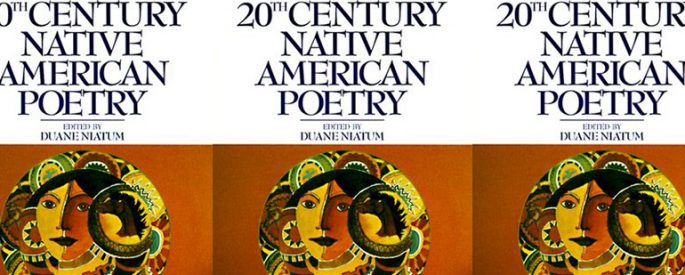 the book cover for Harper's Anthology of 20th Century Native American Poetry